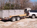 Trailer rig for transporting juveniles
